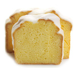 Lemon Iced Pound Cake